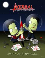 Kerbal Space Program - Big Things Start Small by jeffmcdowalldesign