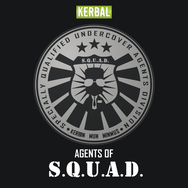 Kerbal Agents Of SQUAD Logo by jeffmcdowalldesign on ...