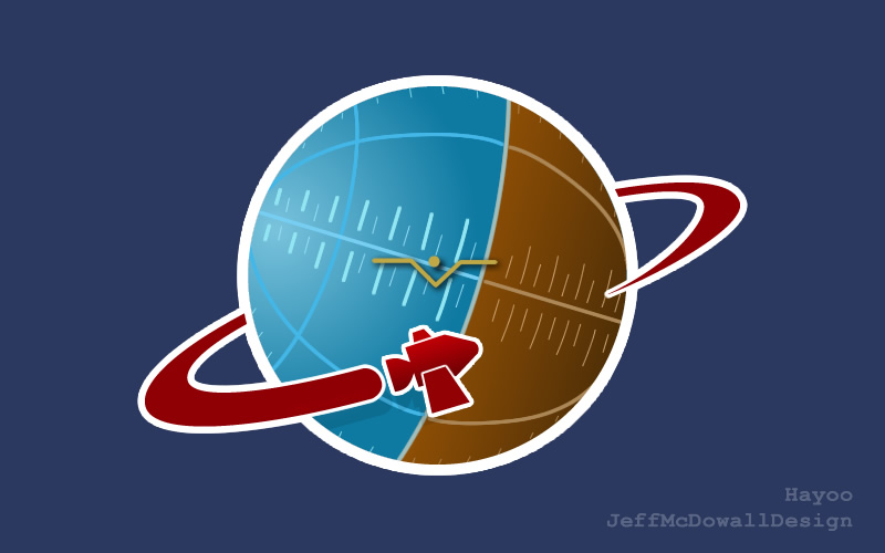 Spaceship II - Kerbal-inspired Logo by jeffmcdowalldesign