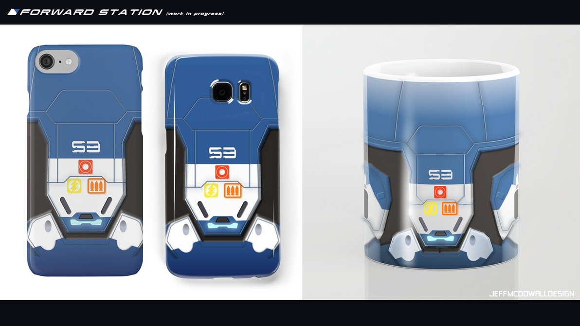 Forward Station mug and phone cases (wip) by jeffmcdowalldesign