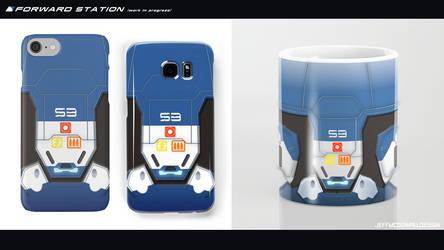 Forward Station mug and phone cases (wip)