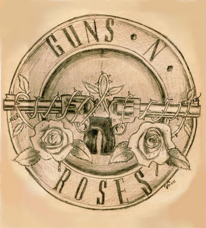 Guns N' Roses logo by VRocketQueen