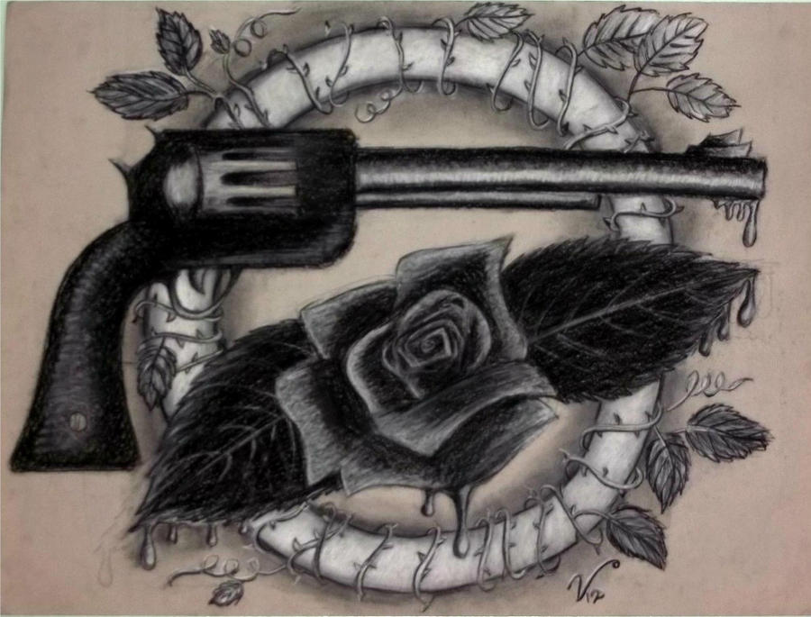 Guns N' Roses Logo redesign [ORIGINAL] by VRocketQueen