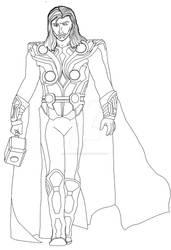 Thor Base by dark-chocobo
