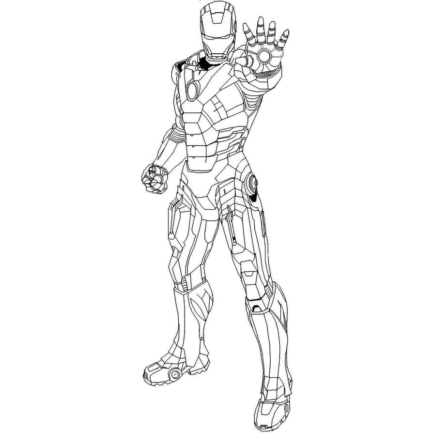 Iron Man Base by dark-chocobo on DeviantArt