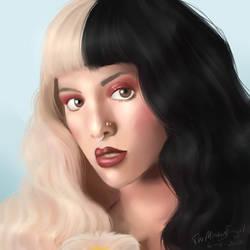 Melanie Martinez portrait comm