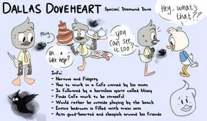 Dallas Doveheart - Ducktales (2017) OC