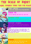 The Scale of Brony