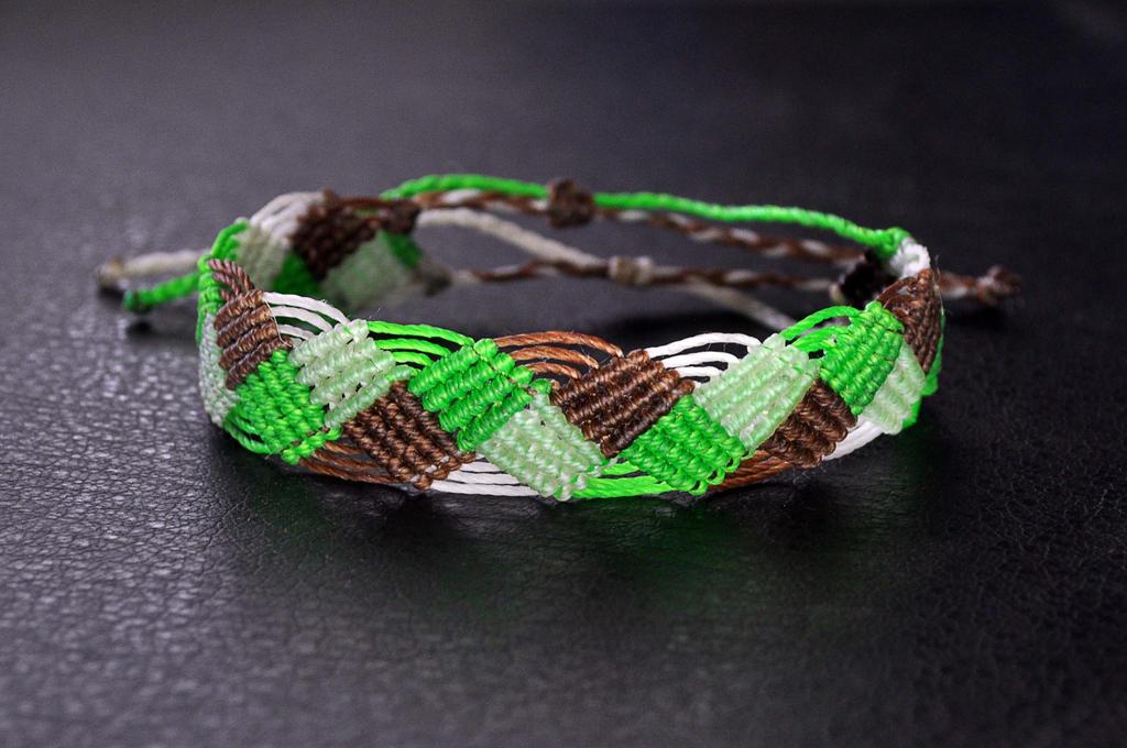 Square style Bracelet by MandrakePunk
