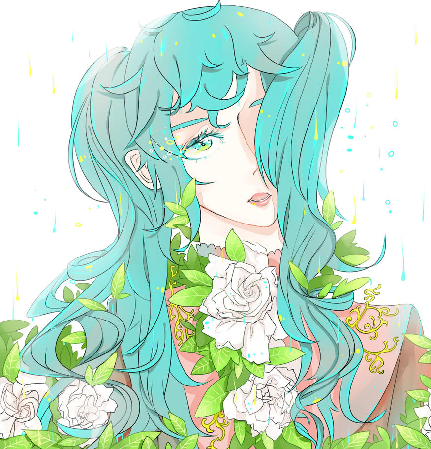 Gardenia Miku by aoidaisy