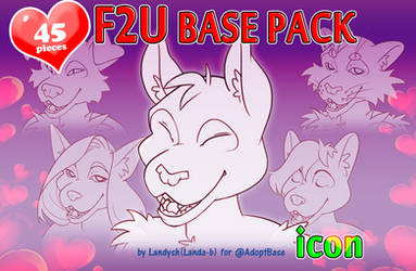 F2U Furry icon Base pack by AdoptBase