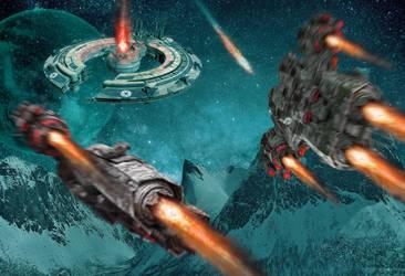 Space Ships by ChanAnoj