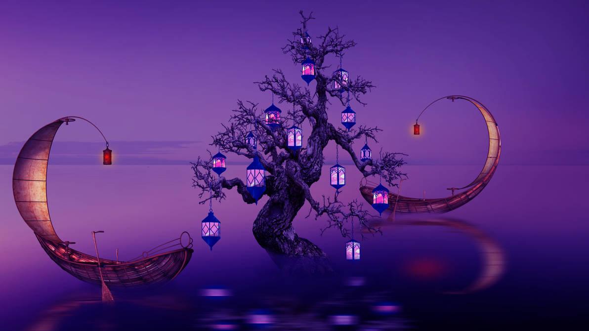 Lamps Tree