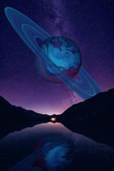 Saturn Planet by ChanAnoj