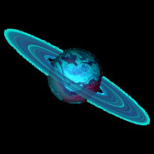 Saturn Planet Stock