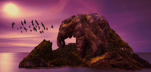 Elephant Island by ChanAnoj