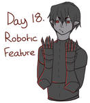 DAY 18: ROBOTIC FEATURE - DRAKE