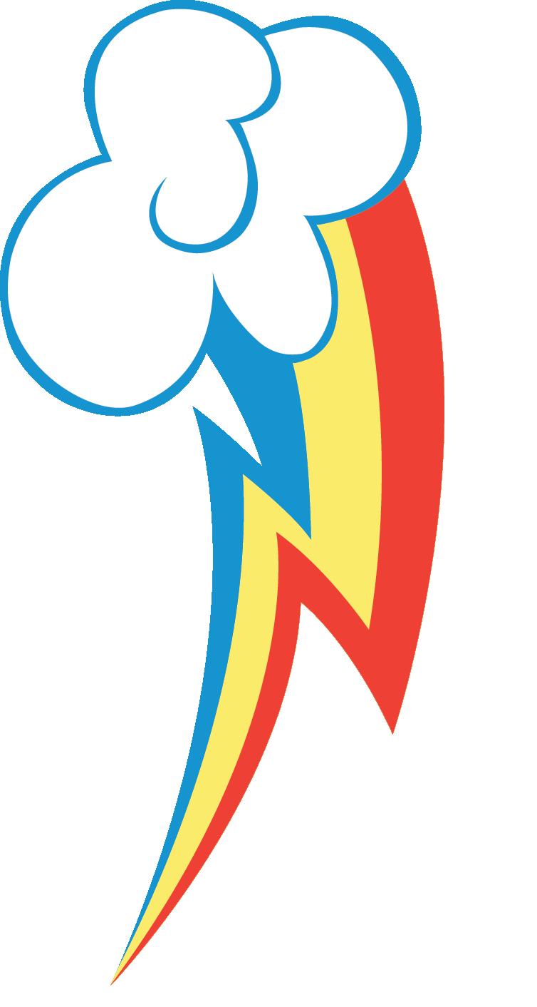 Rainbow Dash's Cutie mark by romansiii on DeviantArt