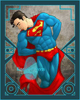 Stumptown Superman by Kimballgray