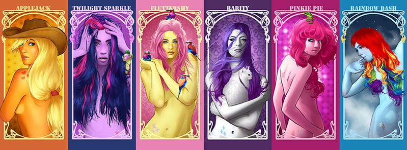 MLP Girls by Kimballgray