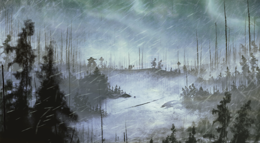 Tundra Forest by Le-Jeux