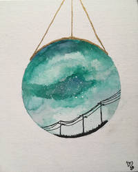Rich skies in a singular glass by IceeBlyn