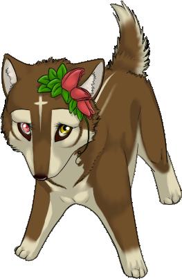 Okami Mascot by diaszoom