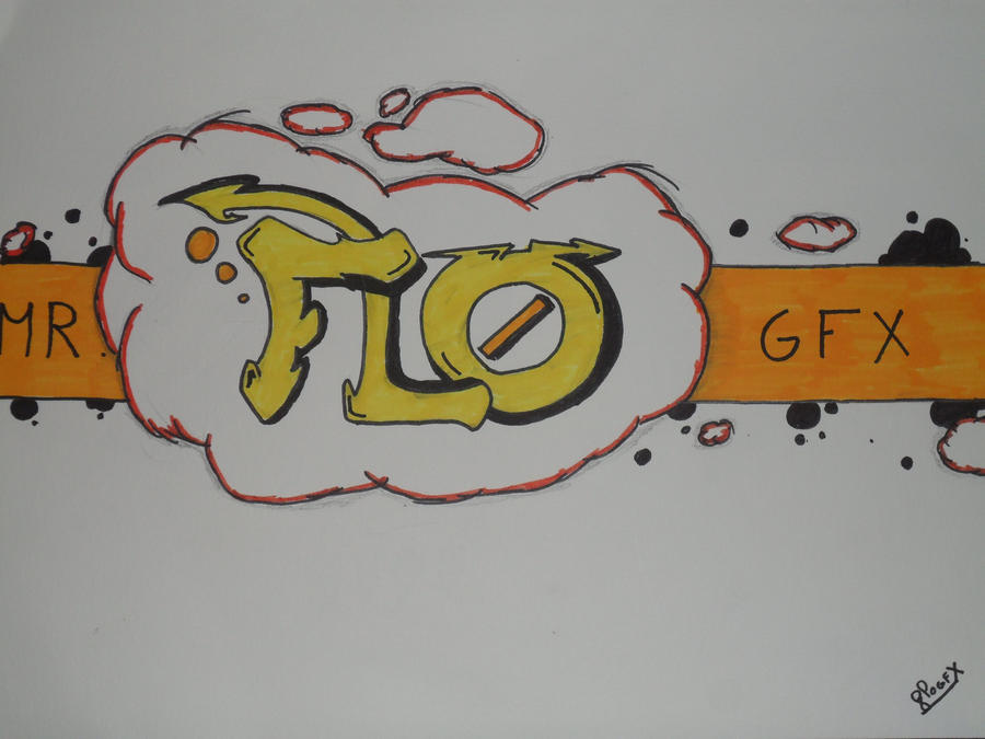 Graffiti flo by floozdrawing on deviantart for How to draw flo