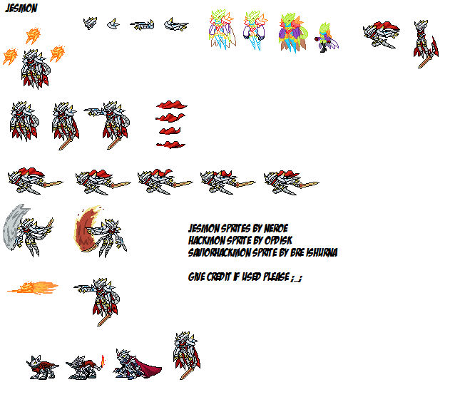 Jesmon Sprites By Neroesaurus On Deviantart Jesmon digimon gta 5 version : jesmon sprites by neroesaurus on deviantart