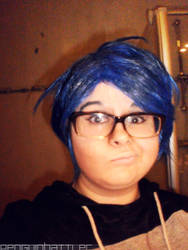 Ryugazaki Rei Cosplay - Wig and Makeup Try-out