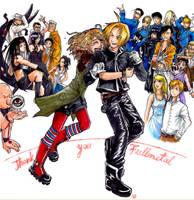 Thank you Fullmetal by Wilkoak