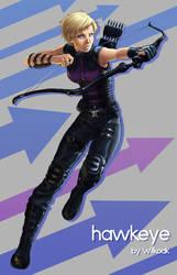 Fem! Hawkeye by Wilkoak
