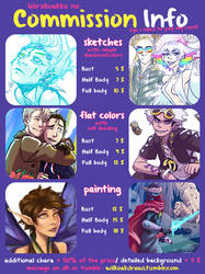 Commission Info [OPEN!]