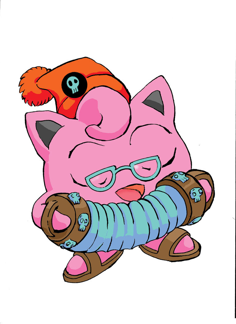 Jigglypuff pirate! by EdGarcia