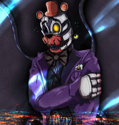 Molten Freddy in a Suit