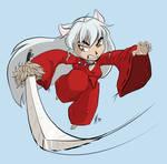 Inuyasha by lightningspam