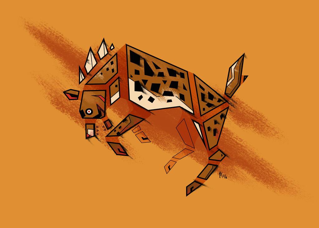 Hyena's Blood by lightningspam
