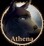 Athena Medallion by lightningspam