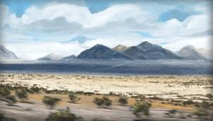 Desert Landscape Study