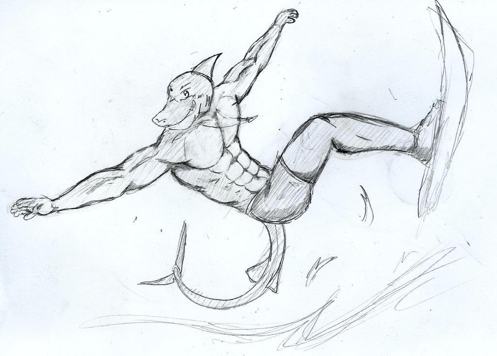 Surf pose by GingaTokkyu