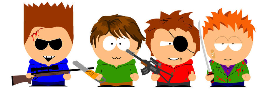 Eddsworld Southparkified By Rmhill10 On Deviantart
