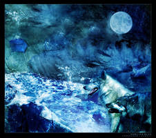 howling blue by insaneone