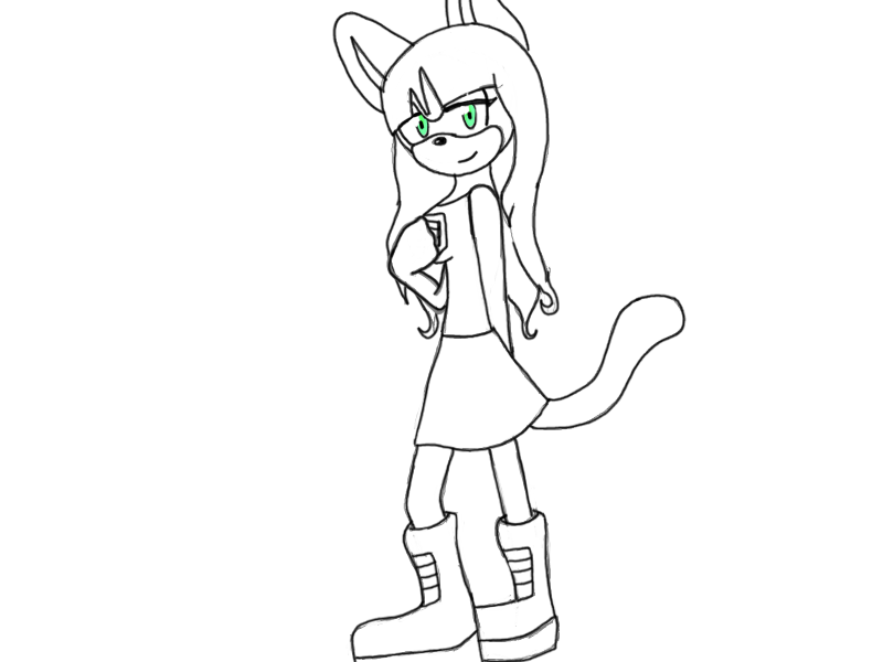 Jess the cat lineart by Fork-Tongued-Nemesis
