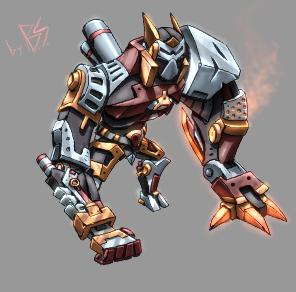 War Robot by 5Souls