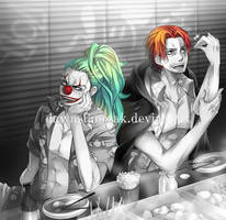 Buggy and Shanks by dawnstanczak