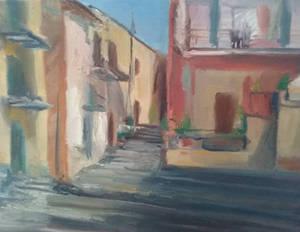 Agrigento historical center