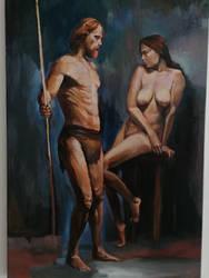David and Bathsheba by scifo