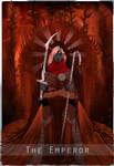 The Emperor - Inquisitor Tarot Card by Widowmura