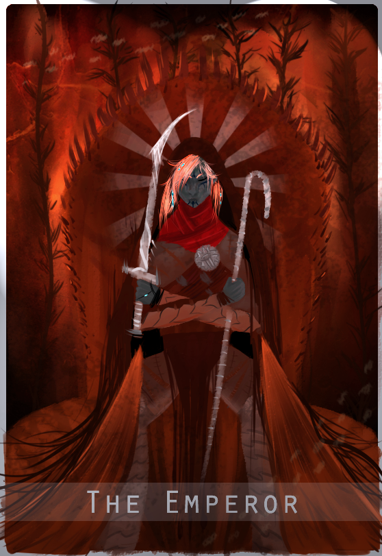 The Emperor - Inquisitor Tarot Card by Aaerowyn
