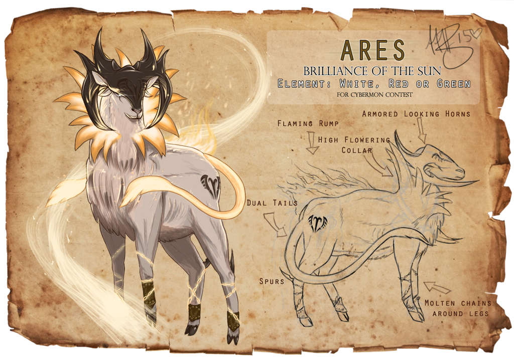 Ares - Submission Sheet by Widowmura